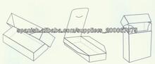 diseño reciclable caja de cartón barato