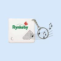 Custom Sound and Printing Recordable Keychian/Sound Keychain/Music Keychain