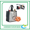 High quality laminated non woven gift wine bags