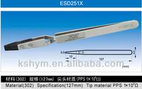 Smart ESD tweezers