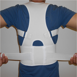 Adjustable Neoprene shoulders back posture support posture correction belt with medical pp strips