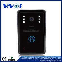 Low price factory direct flats 7 inch tft video door phone