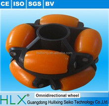 With ISO certification plastic conveyor omni wheel for assembly line, conveyor line