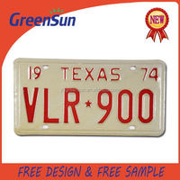 Best quality latest classic car license plate frame