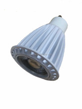 commercial 7W LED lamp GU10 MR16 base available CE RoHS