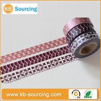 single sided waterproof antistatic printing waterproof japanese washi paper tape