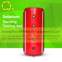 New product 2016 high quality led lamp luxura solarium for body tanning