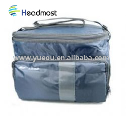 600D polyester heat- transfer dots printing PEVA foil cans cooler bag lunch bag for picnic and party using