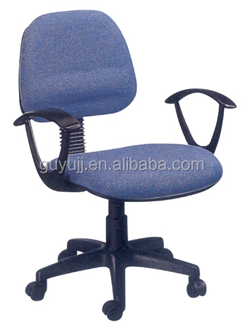 Y-1714 Blue/Purple Linen Office Chair/Mesh Chair/Computer Chair with Armrest