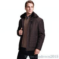 Korea casual style winter mens down jacket made in china