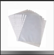 Best sell pocket clear sheet protector