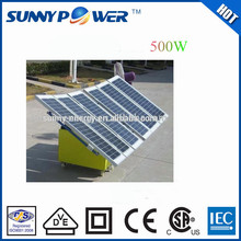 solar energy 500W pv power solar system for home use professional and reliable manufacturer in this field over 8 years