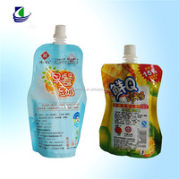 customized high quality plastic spout bag