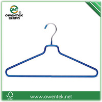 non slip pvc coated wet clothes metal hanger