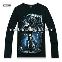 Factory price long sleeve T-shirt custom printing