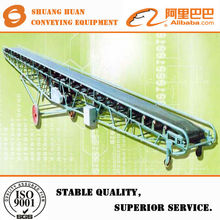 Chinese professional CE approved rubber belt conveyor,mobile conveyor belt