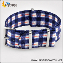 England style printing nylon webbing strap with stainless steel hardware UN108