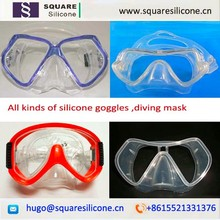 ultra transparent Liquid silicone rubber for diving goggles parts