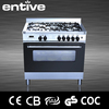 5 burner welcome gas cooking range with grill