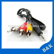 shenzhen market rca audio video cable for super market