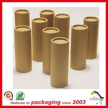 Custom Round kraft tube wholesale recyclable paper packaging cardboard box manufacturers