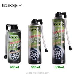 Tire sealer and inflator car repair tools tire repair spray automatic tire inflator