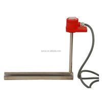 customized elements heater with power line,titanium/zirconium/SUS304, SUS316 stainless steel electric heating tube