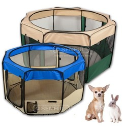Folding Pet Play pen Dog Play pen with Eight Panels