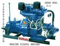 25 HP PETER TYPE MARINE DIESEL ENGINE
