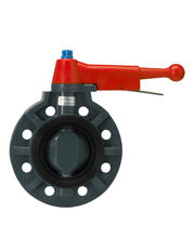 CHEMICAL RESISTANCE PP BUTTERFLY VALVE(LEVER TYPE)