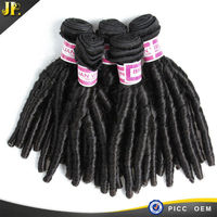 JP 2015 soft and smooth 7a remy 100% human hair top quality virgin brazilian spiral curl