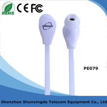 High Quality Plastic In-ear Headphone with TPE Cable