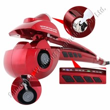 2015 New Tools LCD Automatic Steam Hair Curler Rollers Electric Steamer Curl DIY Magic Stylist Curling Irons Wand Hair Curler