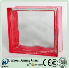 Decorative Side Colored Glass Block Glass Brick