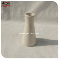 Stock mini ceramic vase ceramic bottle ceramic aroma diffuser container