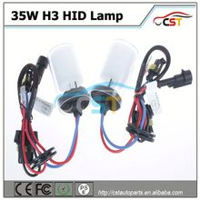 Top Quality HID H3 35W 3500LM xenon lamp bulb motorcycle hid xenon lamp kit