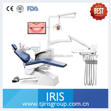 Diamond blue Dental Chair units with operating lamp and instrument control system