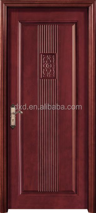 Solid Wood Door Archsingle Wood Carved Doormodern Wood Front Door