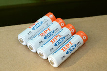 BPI AA 2300mAH battery Li-ion Lithium Low self-discharge More durable