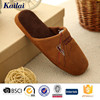 China brand name manly man slipper from shoe manufacturer