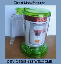 Smart plastic tea maker for promotional gifts