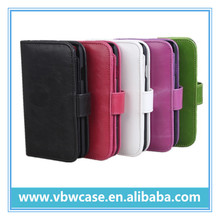 book style leather case for mobile phone