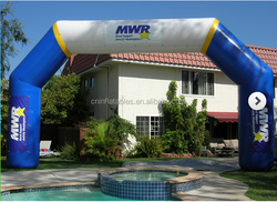 2015 high quality inflatable arch, inflatable event arch from audiinflatables