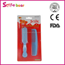 Hot Sell Infant Baby Comb and Hair Brush Set Baby comb & Brush set Baby Care Set
