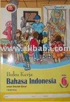 Buku Kerja Bahasa Indonesia SD 6 KTSP Book