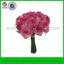 """10"""" Bouquet Table Flower,Stand Flower For Table,Decor Silk Rose Bouquet"""