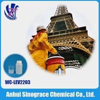 Polyurethane resin leveling agent for wood & furniture coating