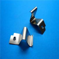 Manufacturer Spring Steel V Shape Button Stamping Spring Clips
