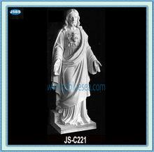 jesús cristo en la estatua de mármol blanco