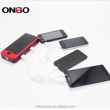ONBO 12v emergency universal mouth power bank 12000mah mighty jump starter automotive jump starter
